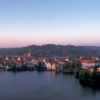 Bad Waldsee mit Altstadt am See ©Tourist-Info Bad Waldsee